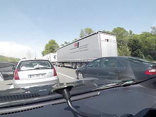 Forced fuck hore - Tancat en cotxe a la autopista durant 2 hores