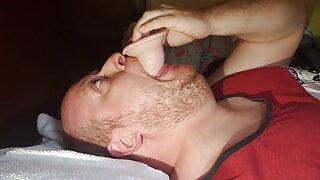 Deep throat dildo 8 inch