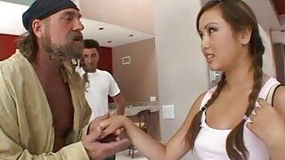 Hot Asian Loves Huge Cock