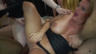 I fuck a blonde MILF-Whore & fill her dirty cunt with my Cum