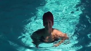 Annadevot - Swimming in Bikini