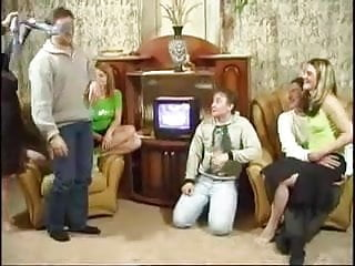 Having russian sex - Russian family having an orgy