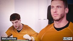 Men.com - Jordan Boss and Micah Brandt - Star Trek A Gay Xxx