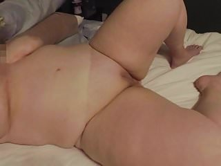 Lady lying on bed naked - My bbw lying in bed