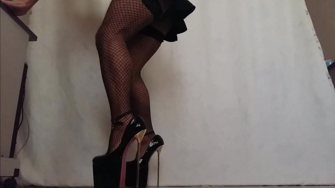 Wife High Heels Stockings
