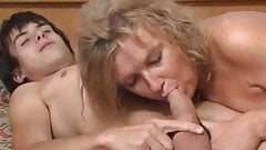 Hot Bodied Mature Loves Sucking And Fucking A Youngster