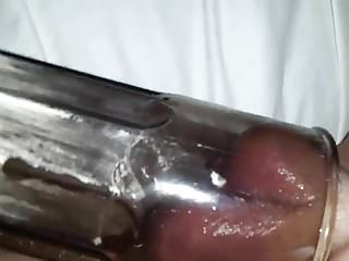 Cream sex tube - Pussy pump tube