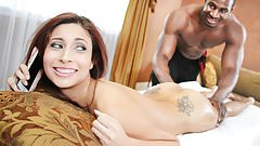 Jade Jantzen First Time Anal With Big Black Cock