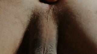 My little Asshole Fucked by my favorite Dildo