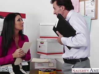 Stockinged legs porn Stockinged office babe jessica jaymes fuck hard