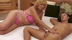 Горячий секс с бабушкой