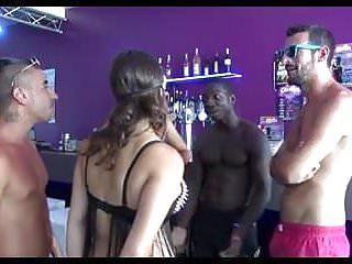 Teens first interracial gang bang Interracial gang bang with blindfolded ka rene ch1