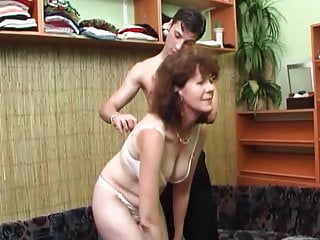 Red hed cock sucking vid Hairy russian red hed milf fucked facialized