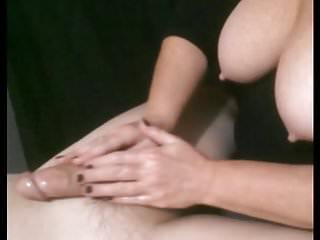 Aunt handjob swallow Mature aunt polly did wonderful massage on her young lover
