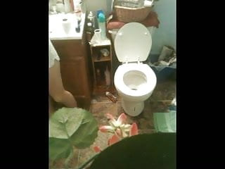 Largest penis recored - My ex gf how said i could recored her in my bathroom