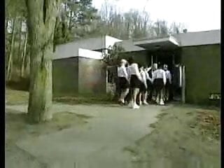 Sex party movie thumbs German school-movie