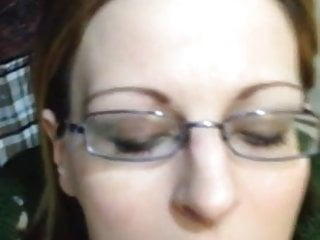 Girl begging for facial - Hot girl-next-door type begs for facial