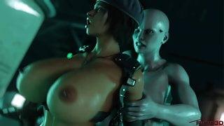 Jill Valentine Vs Mrs Tyrant