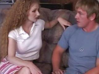 Anny porn Redhead annie body seduces young stud