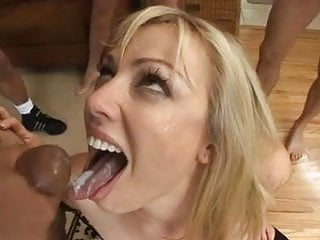 Xxx nasty whore - Blond nasty whore eating cum