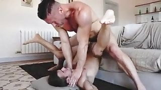 Hot  Bareback with Step Dad