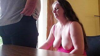sucking strangers cock