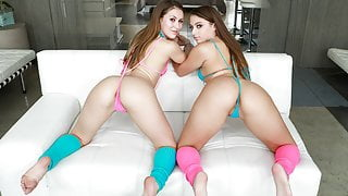 Gia Derza and Paige Owens have hungry booty