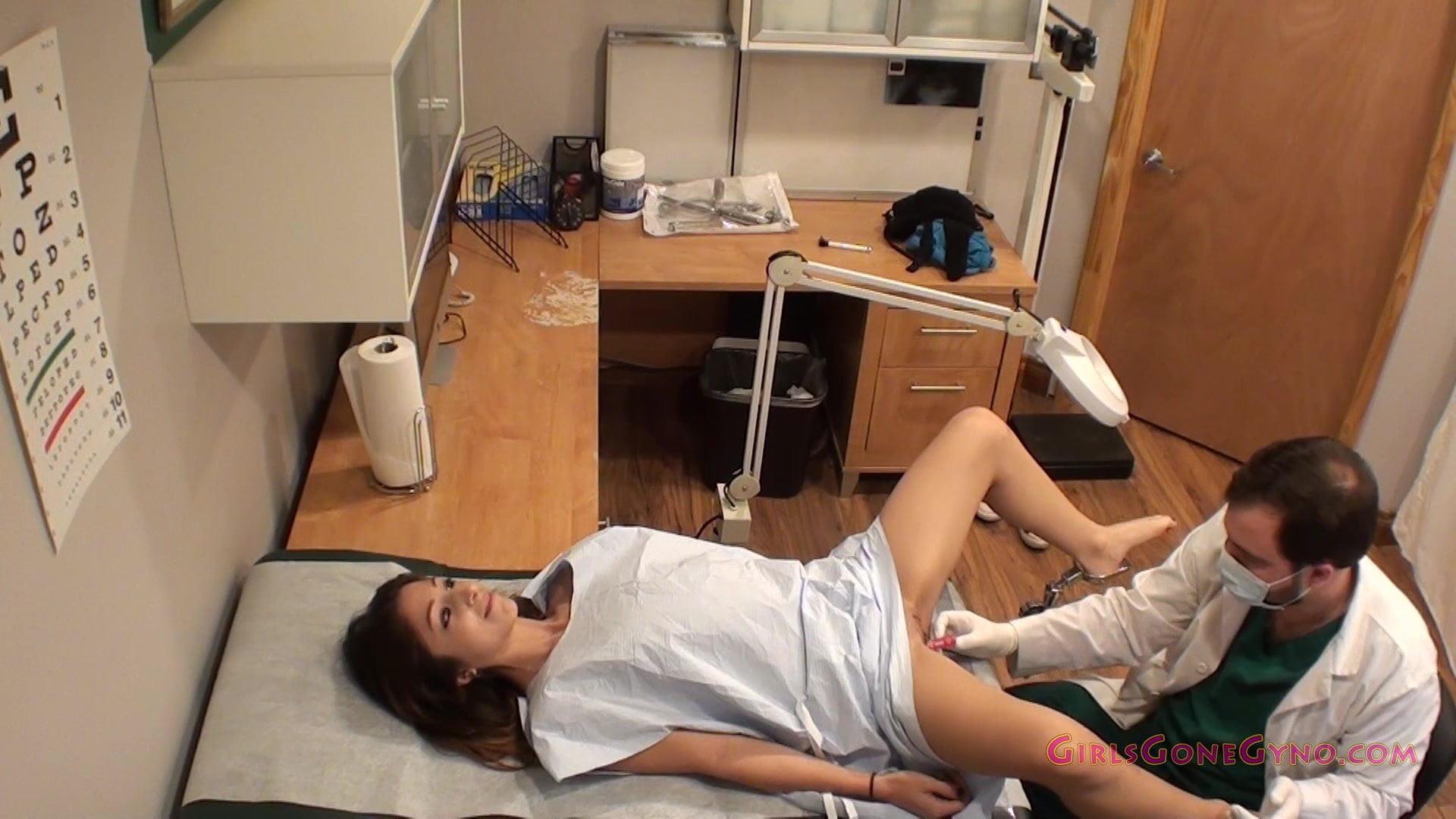 Naked girls gettign examined gyno x Alexa Rydells Gyno Exam Full Physical From Doctor Xhamster