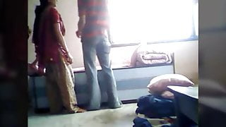 Desi couple in guest house