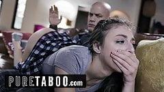 Pure Taboo падчерицу отшлепал и трахнул в задницу отчим