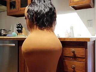 Tampon stuck in anus Help stepson, im stuck in the kitchen, fucking with bigtits mom