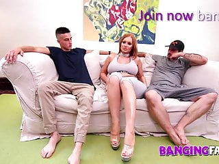 Stapon fuckers redhead mom bangs Banging family - my step-mom is a dp maniac