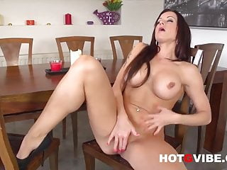 Hot wet pussys Sexy milf stacy silver fingering her hot wet pussy 2