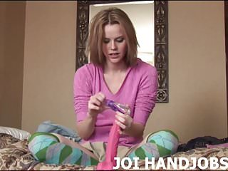 How to give cunnilingus video - I want you to tell me how to give a great handjob joi