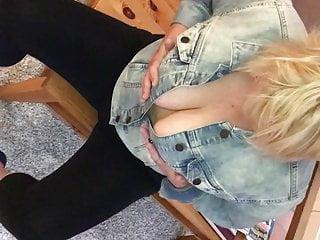 Vintage jean jacket Titties in jean jacket