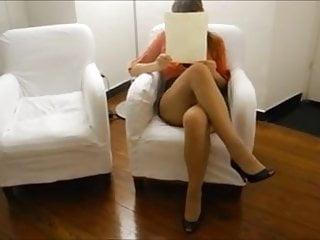 Wifes sexy legs Wife upskirt, sexy legs, no panties.