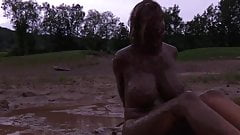 Girl humilated in the mud 2