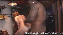 White slut bound and ass fucked