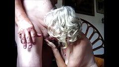 Old couple sucking and fucking