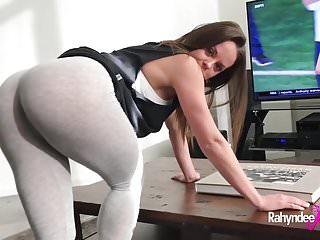 Memory game porn style - Rahyndee james fucks up the game pov