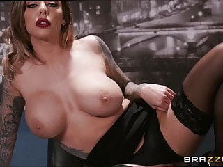 Elongated or puffy tits galleries Imageset black stockings karma rx hard sex in office gallery
