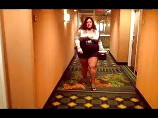 Porn sexy legs Bbw sexy legs good walk in high heels
