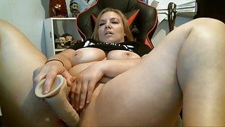 Bouncinbootie masturbating with toy 20210602
