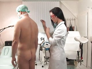 Women given nude medical examination - Deep prostate examination ii the full scene