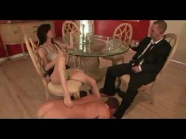 Mistress Kick Slave Balls