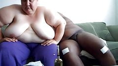 Fat Cunt Sow Retard Gives Head And Hand Job Plus Bonus 4