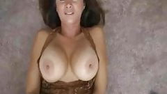Hot Wife Rio Takes a Huge Load In Her Mouth!