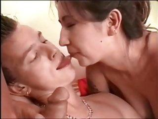 Bisexual Cum Kissing