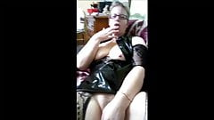 French mature wife, love dildo and more …