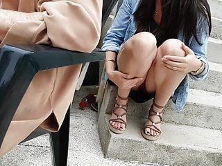 Candid teen myspace Candid teen upskirt pantie feet voyeur